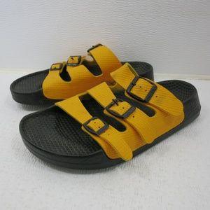 Birkenstock Birko-Flor Three Strap Sandals Shoes